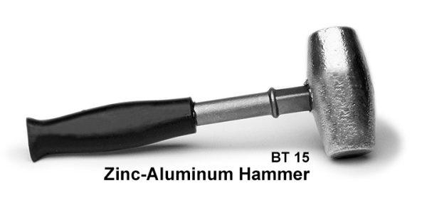 Zinc hammer
